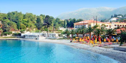 Stranden ved Hotel Anthemis på Samos, Grækenland.