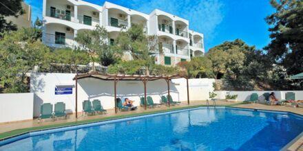 Poolen på Hotel Anthemis på Samos, Grækenland.