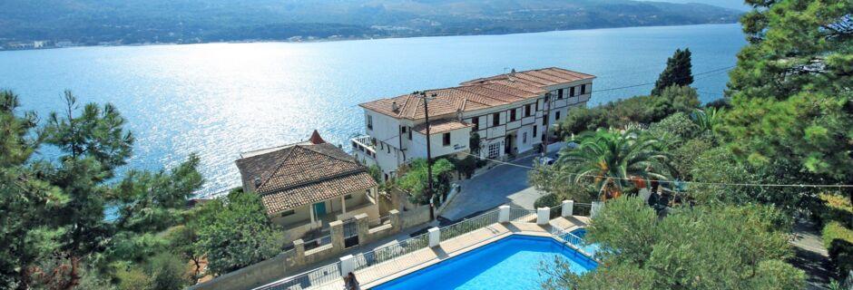 Hotel Anthemis på Samos, Grækenland.
