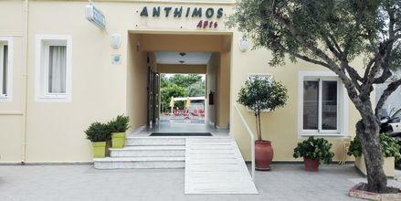 Hotel Anthimos i Platanias på Kreta, Grækenland