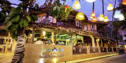 Strandrestauranten på Hotel Phra Nang Inn i Ao Nang.
