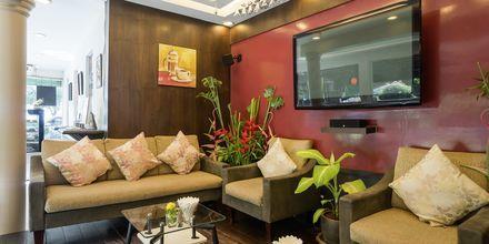 Café på Aonang Princeville Villa Resort & Spa i Krabi, Thailand.