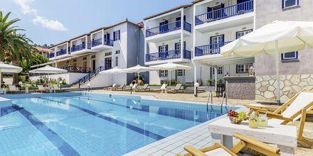 Poolområde på Aperitton på Skopelos, Grækenland