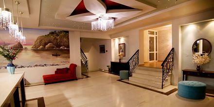 Reception på Hotel Aphrodite, Lesvos.
