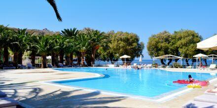 Pool på Hotel Aphrodite, Lesvos.