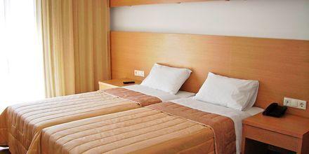 Dobbeltværelse på Hotel Apolis på Karpathos, Grækenland.