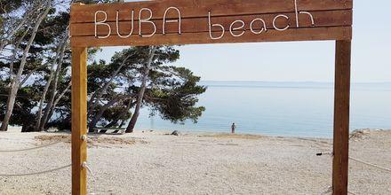Stranden ved Apollo Mondo Family Romana i Kroatien.
