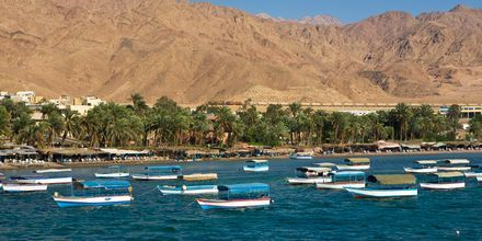 Aqaba i Jordan.