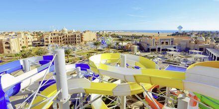 Vandrutsjebaner på Aqua Vista i Hurghada, Egypten.