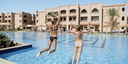 Poolområde på Aqua Vista i Hurghada, Egypten.
