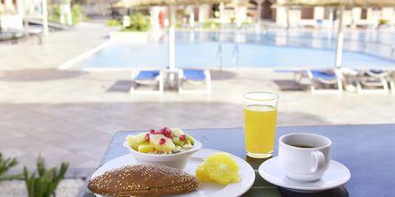 Morgenmad på Aqua Vista i Hurghada, Egypten.