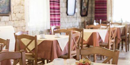 Morgenmad på Hotel Aquamar på Kreta, Grækenland.
