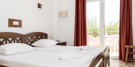 Dobbeltværelse på Hotel Aquamar på Kreta, Grækenland.