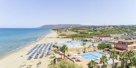 Stranden ved Hotel Aquamar på Kreta, Grækenland.