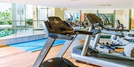 Fitness på Hotel Aquila Porto Rethymno på Kreta, Grækenland