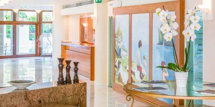 Receptionen på Hotel Aquila Porto Rethymno på Kreta, Grækenland