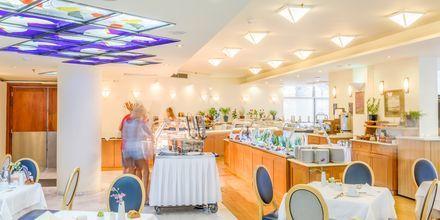 Hovedrestaurant på Hotel Aquila Porto Rethymno på Kreta, Grækenland