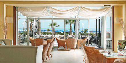 Café på Hotel Aquila Porto Rethymno på Kreta, Grækenland