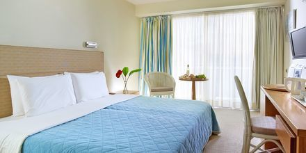 Renoverede dobbeltværelser på Hotel Aquila Porto Rethymno på Kreta, Grækenland