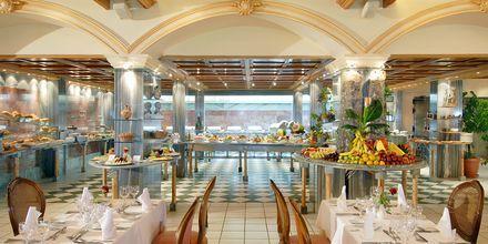 Buffetrestaurant på Hotel Aquila Rithymna Beach på Kreta, Grækenland