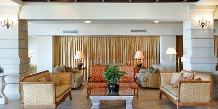 Lounge på Hotel Aquila Rithymna Beach på Kreta, Grækenland