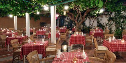 Taverna på Hotel Aquila Rithymna Beach på Kreta, Grækenland