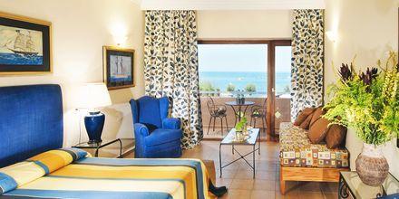 Dobbeltværelse i bungalow på Hotel Aquila Rithymna Beach på Kreta, Grækenland