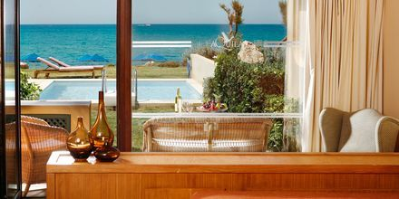 Pool Bungalow med privat pool på Hotel Aquila Rithymna Beach på Kreta, Grækenland