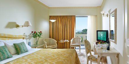 Dobbeltværelse på Hotel Aquila Rithymna Beach på Kreta, Grækenland.