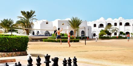 Beach volley på Hotel Arabella Azur Resort, Hurghada, Egypten.
