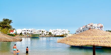 Stranden ved Hotel Arabella Azur Resort, Hurghada, Egypten.