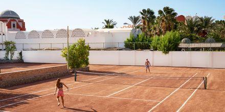Tennis på Hotel Arabella Azur Resort, Hurghada, Egypten.