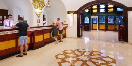 Reception på Hotel Arabella Azur Resort, Hurghada, Egypten.