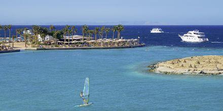 Windsurfing på Arabia Azur Resort i Hurghada, Egypten