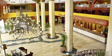 Reception på Arabia Azur Resort i Hurghada, Egypten