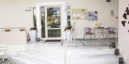 Reception på Hotel Archipelagos i Platanias på Kreta, Grækenland.