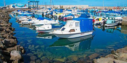 Havnen i Arguineguin/Patalavaca på Gran Canaria, De Kanariske Øer.