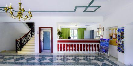 Reception på Hotel Arion i Kokkari, Samos.