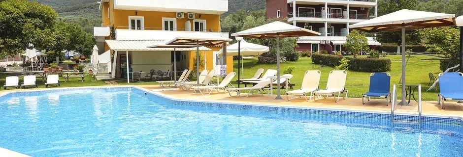 Hotel Aristidis Garden i Parga.