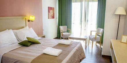 Dobbeltværelse på Hotel Armeno Beach på Lefkas, Grækenland.