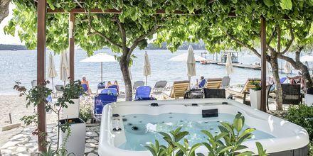 Jacuzzi på Hotel Armeno Beach på Lefkas, Grækenland.