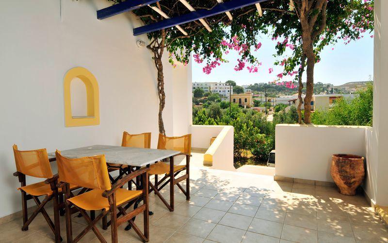 Hotel Artemida på Leros, Grækenland.