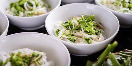 Restaurant på Asian Ruby Select i Saigon, Vietnam