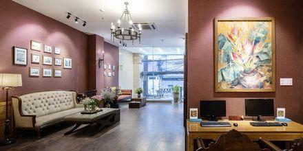 Lobby på Asian Ruby Select i Saigon, Vietnam