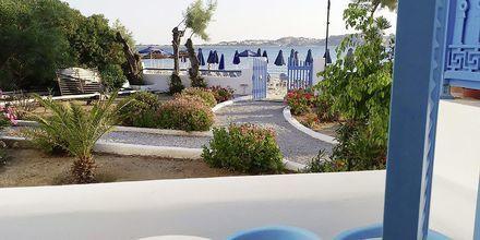 Dobbeltværelse på Hotel Asteria i Naxos by, Grækenland.