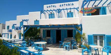 Hotel Asteria i Naxos by, Grækenland.