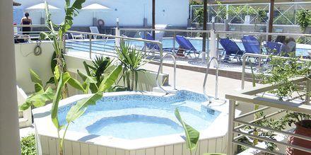 Jacuzzi på hotel Astron på Kos, Grækenland