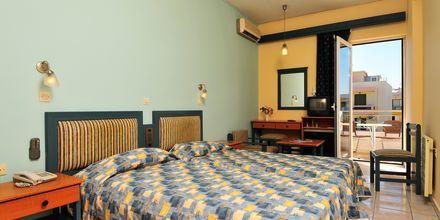 Dobbelt-/enkeltværelse på Hotel Astron på Kos, Grækenland.