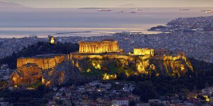 Parthenon og Akropolis