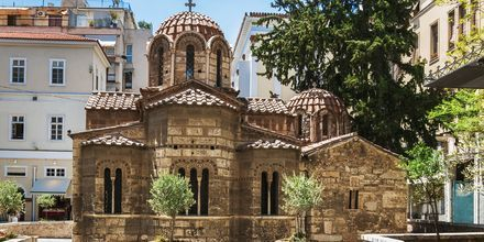 Kirken Panaghia Kapnikarea i Athen.